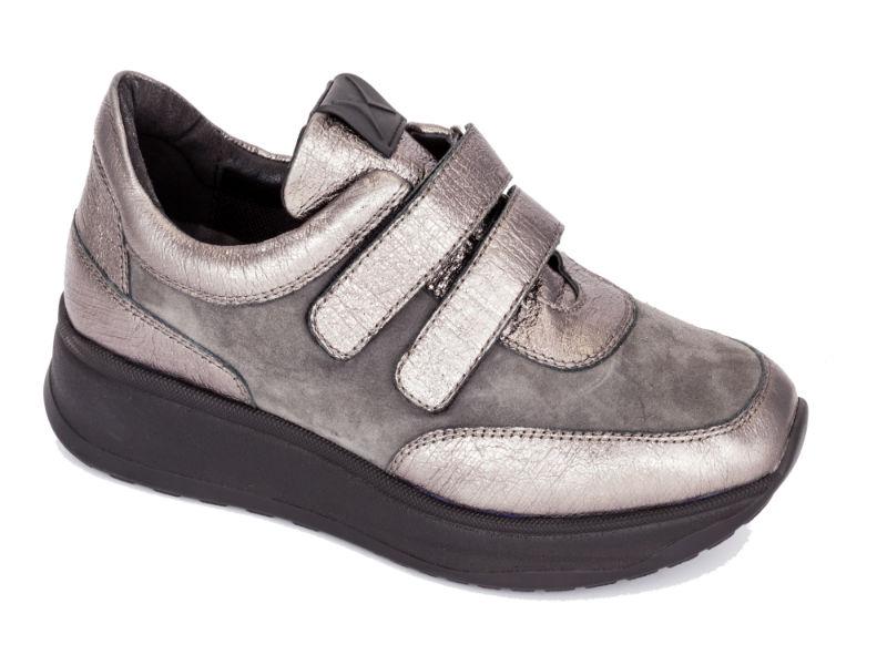 424d4b11b9e -60% Anatomic Footwear Γυναικείο ανατομικό casual σουέτ χρυσό γκρι Save  Your Feet (1500)