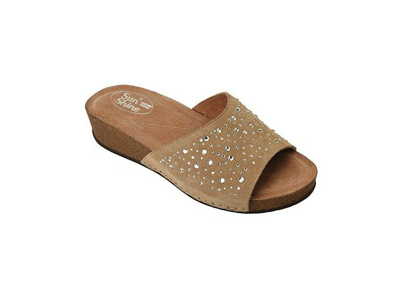 Sunshine Women S Anatomic Leather Flat